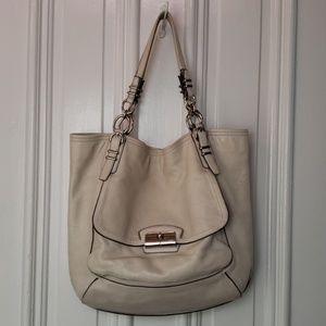 *Coach* Kristin Pinnacle leather bag